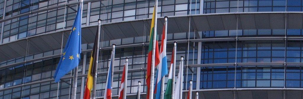 bandiere parlamento europeo